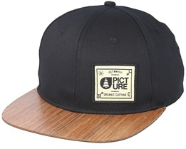 Sheridan Wood Black Snapback - Picture