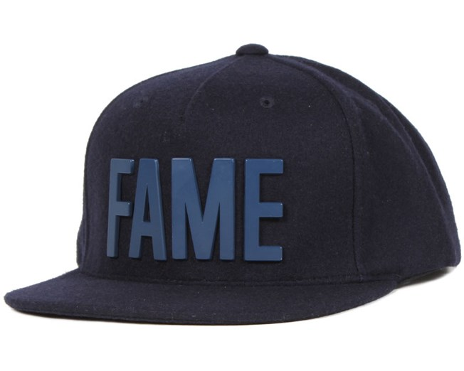 Hall Of Fame - Metal Ewing Navy Snapback