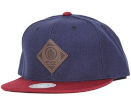 Offspring Dark Navy/Bordeaux Snapback - Upfront