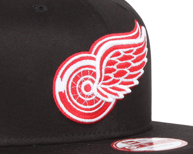 detroit red wings nhl black basic 9fifty snapback new era cap. Black Bedroom Furniture Sets. Home Design Ideas