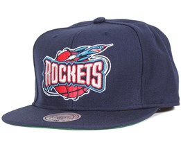 Houston Rockets Wool Solid Snapback - Mitchell & Ness
