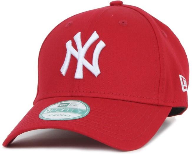 New Era - NY Yankees 940 Basic Scarlet