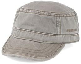Army Cotton Dark Beige Fitted - Stetson