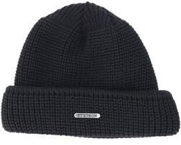 Wool Black Beanie - Stetson