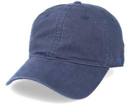 Baseball Delave Organic Cotton Navy Fitted - Stetson