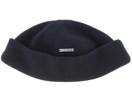 Docker Wool/Cashmere Black Beanie - Stetson