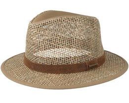 Seagrass Traveller Beige/Brown Straw - Stetson