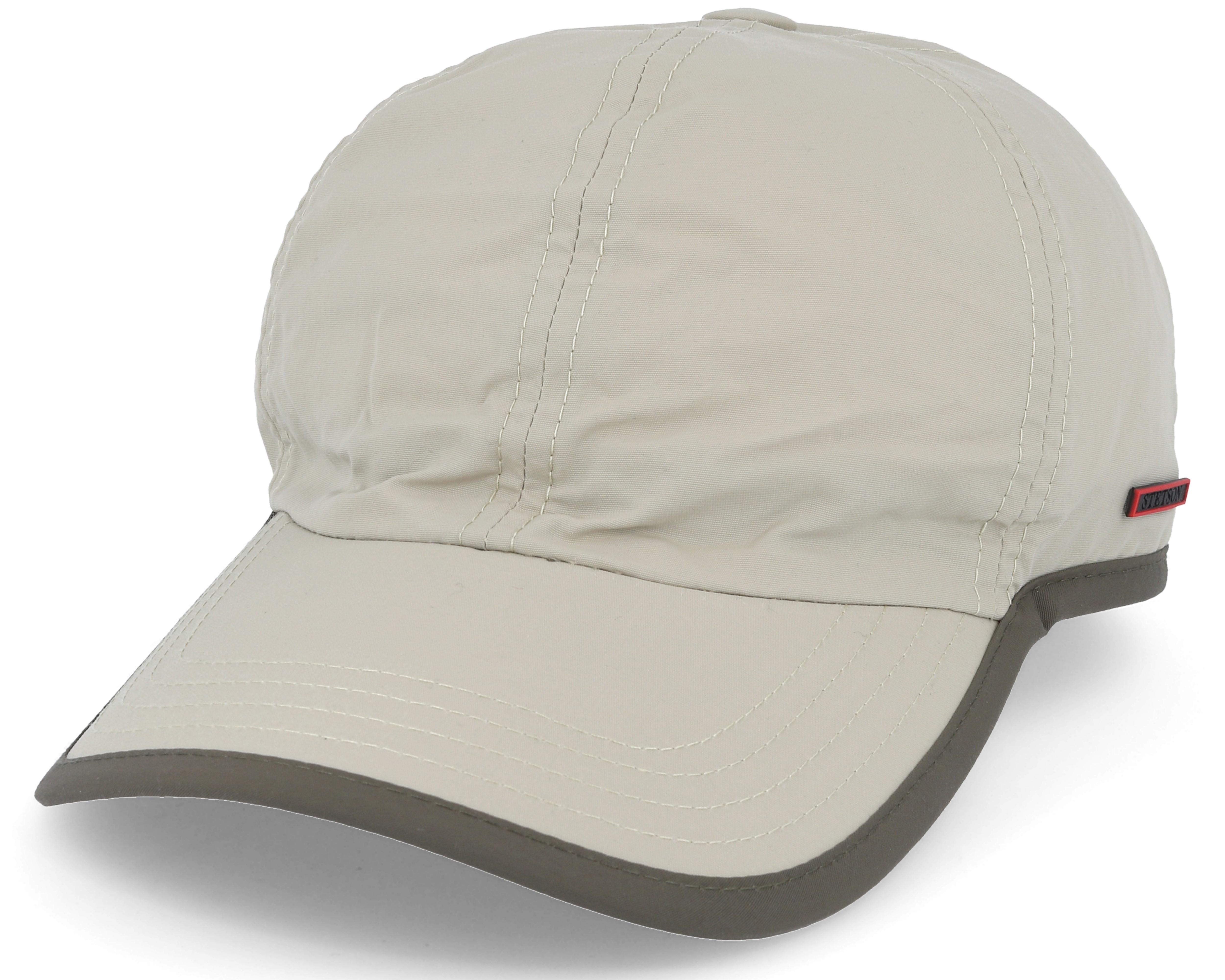 Baseball Cap Outdoor Beige Adjustable - Stetson caps  33ea44571d7