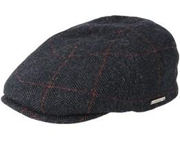 Duck Cap Wool Grey Flat Cap - Stetson
