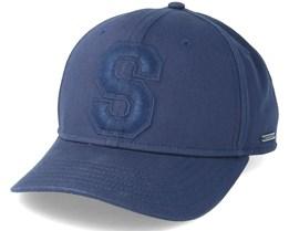 Baseball Cap Cotton Navy Adjustable - Stetson