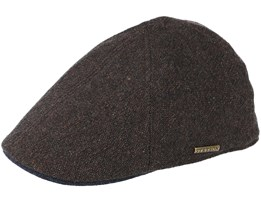 Texas Wool Brown Flat Cap - Stetson
