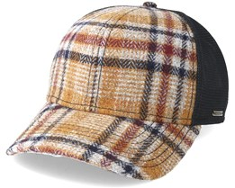 Woolrich Trucker Check Brown Adjustable - Stetson