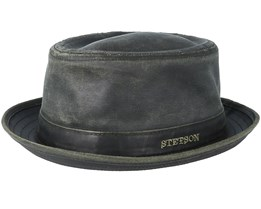 Co/Pes Black Pork Pie - Stetson