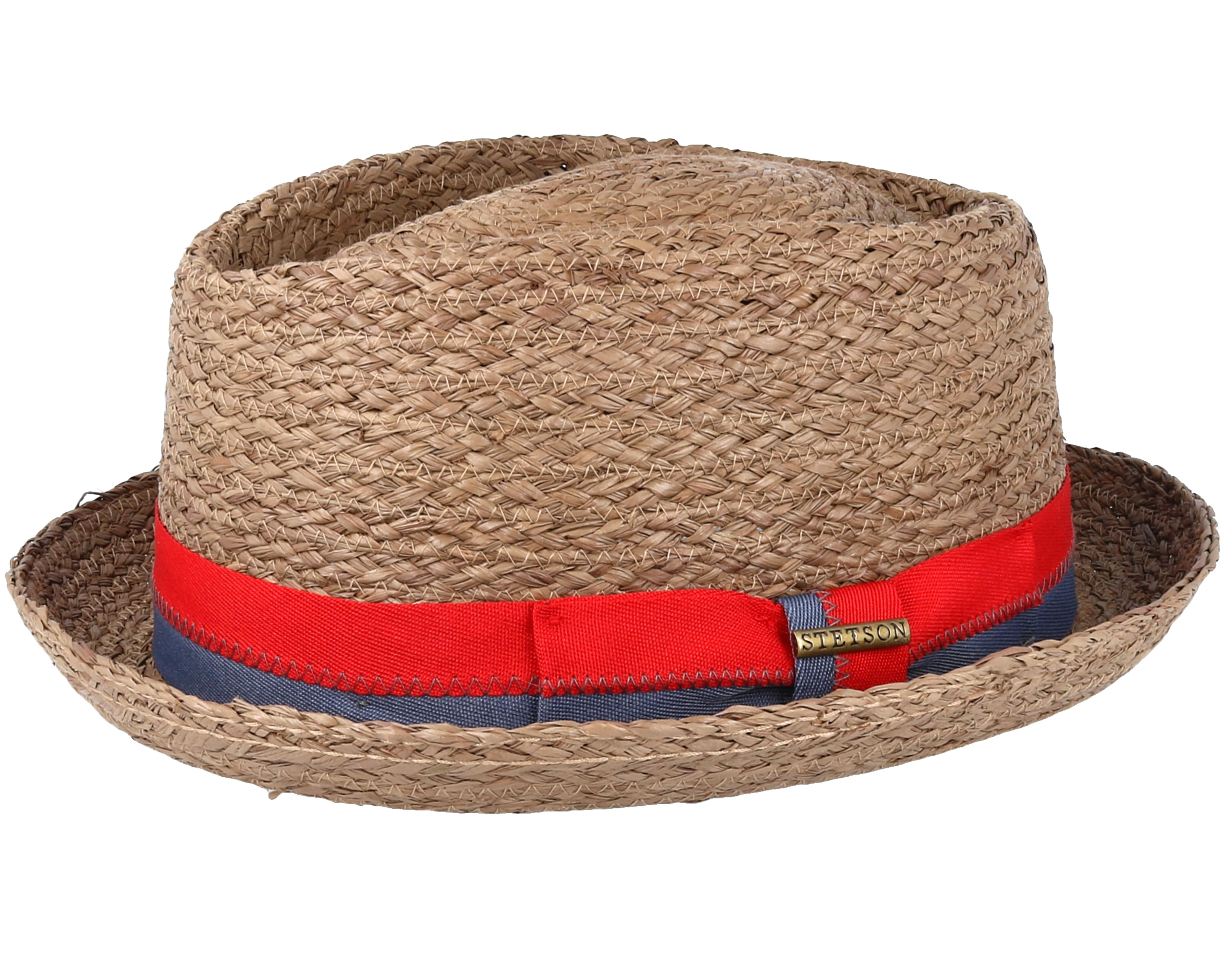 cd540d81aef Diamond Raffia Braun Straw - Stetson hats