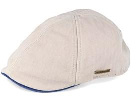 Texas Cotton Beige Flatcap - Stetson