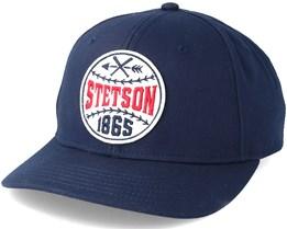 Baseball Cap Baseball Navy Adjustable - Stetson