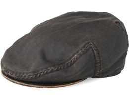 Kent Co/Pe Brown Flat Cap - Stetson
