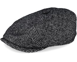 6-Panel Wool Cap Khaki/Black Flat Cap - Stetson