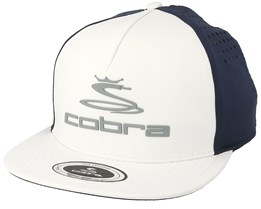 Tour Vent White Snapback - Cobra