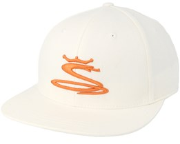 Kids Tour Snake White Snapback - Cobra