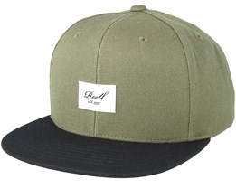 Pitchout 6-Panel  Buck/Black Snapback - Reell