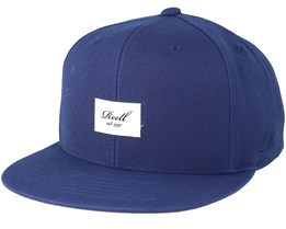 Base Cap Light Navy Snapback - Reell