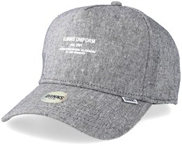 Spotted 5 Panel Curved Light Grey Adjustable - Djinns