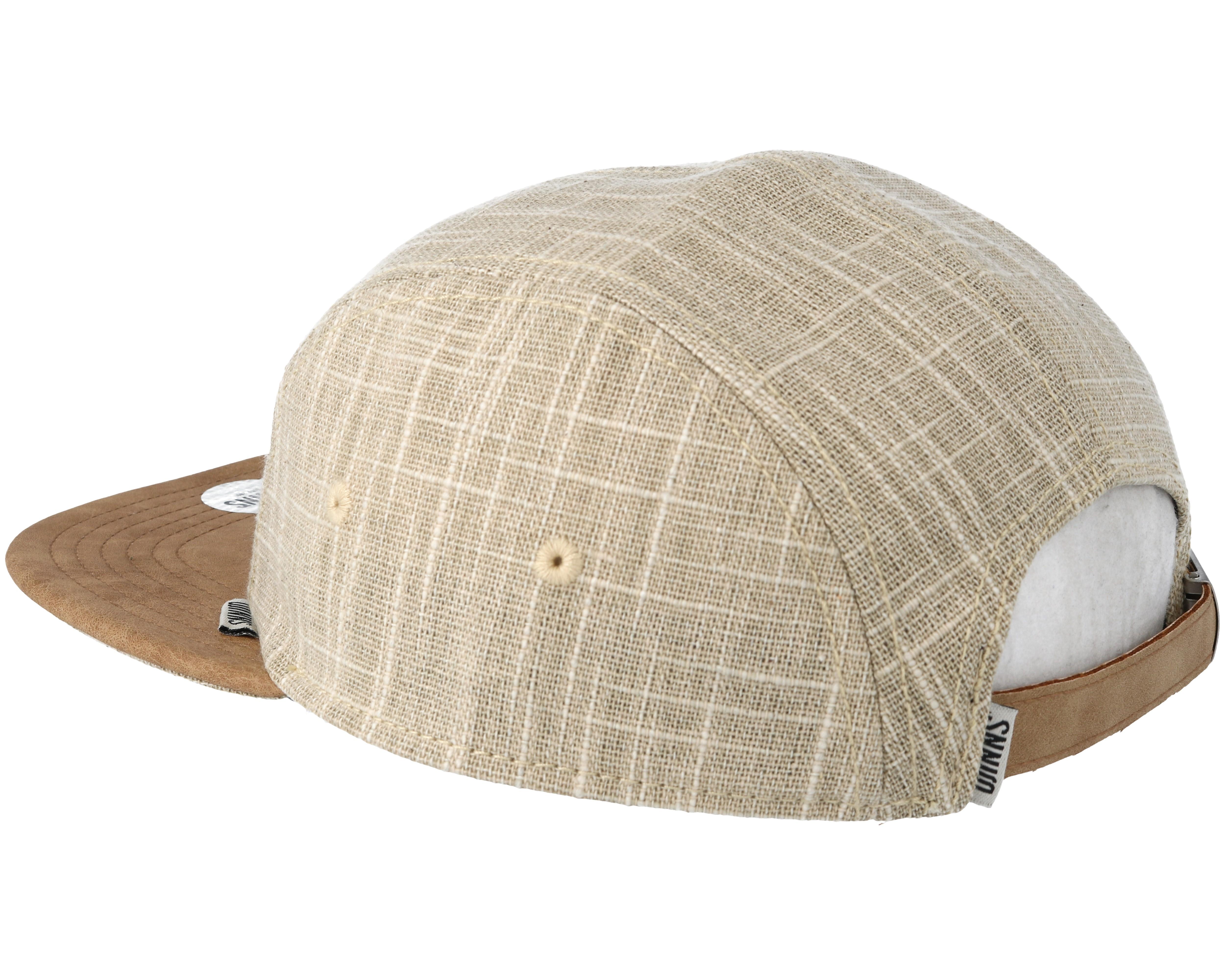 flat indo lin sand beige snapback djinns cap. Black Bedroom Furniture Sets. Home Design Ideas