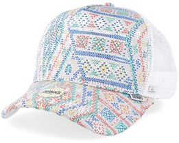 Geronimo Multi/White Trucker - Djinns