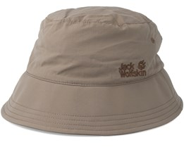Supplex Sun Hat Siltstone Bucket - Jack Wolfskin