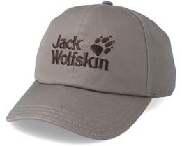Baseball Cap Siltstone Grey Adjustable - Jack Wolfskin
