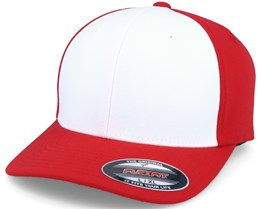 Preformance White/Red Flexfit - Flexfit