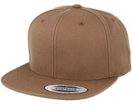 Brown Snapback - Yupoong