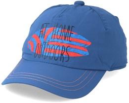 Kids Supplex Shoreline Cap Ocean Wave Blue Adjustable - Jack Wolfskin