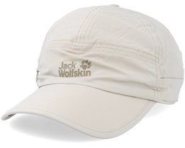Supplex Canyon Cap Light Sand Adjustable - Jack Wolfskin
