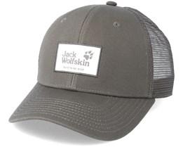 Heritage Cap Olive Brown Trucker - Jack Wolfskin