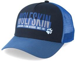 Adventure Cap Night Blue Trucker - Jack Wolfskin