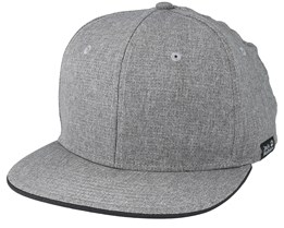 Barrel Cap Pebble Grey Snapback - Jack Wolfskin