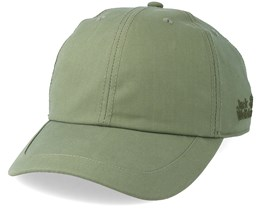 El Dorado Base Cap Woodland Green Adjustable - Jack Wolfskin