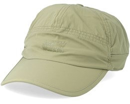 Supplex Canyon Cap Green Adjustable - Jack Wolfskin