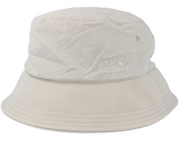 Supplex Sun Hat Light Sand Bucket - Jack Wolfskin