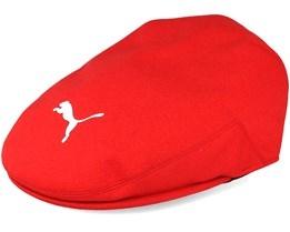 Tour Driver Red Flat Cap - Puma
