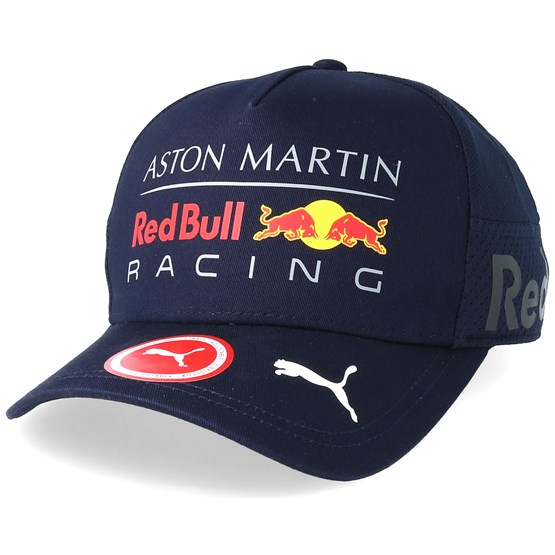 red bull racing team gear navy adjustable red bull. Black Bedroom Furniture Sets. Home Design Ideas