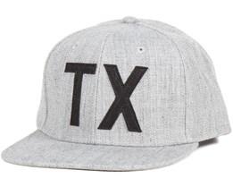 TX Cap Grey Melange Snapback - Dickies