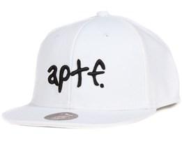 APTF White/White Snapback - Appertiff