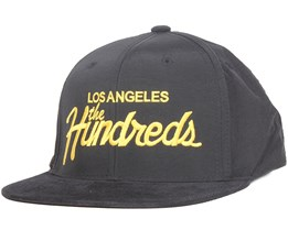 Team Black Snapback - The Hundreds