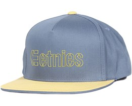 Corporate 5 Pacific Blue Snapback - Etnies