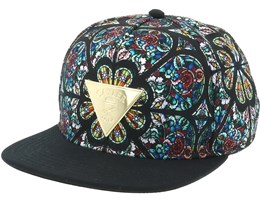 Gaudi Black/Gold Snapback - Cayler & Sons