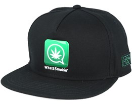 Whatssmokin´Black Snapback - Cayler & Sons