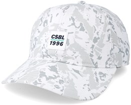 Decennivm Curved White Camo Adjustable - Cayler & Sons